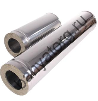 Сэндвич-труба (AISI 430/0,5мм) L-0,5м