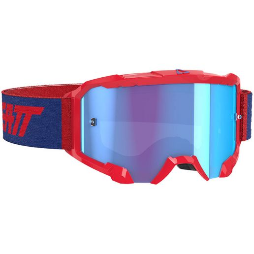 Leatt Velocity 4.5 Red/Blue 52%, очки для мотокросса и эндуро
