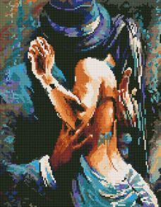 Алмазная мозаика «Тайная страсть» 40x50 см