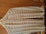 Ажурный шарф палантин
