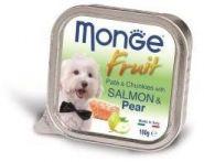 Monge Dog Fruit консервы для собак лосось с грушей 100г