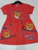 Платье детское Котик оптом | 5 шт