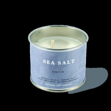 """SmoRodina - Ароматическая свеча """"Морская соль"""" большая"""