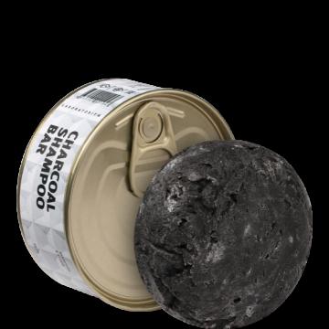 Лабораториум - Твердый шампунь с углем, 75 гр