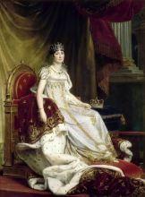 Портрет Жозефины  де Богарне (Репродукция Франсуа Паскаль Симон Жерар)