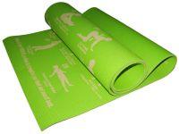 Коврик для йоги. Цвет зелёный., артикул 29142