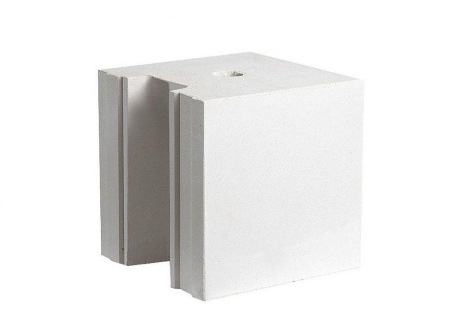 Блок силикатный среднеформатный 248х250х248 мм