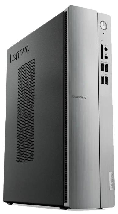 Настольный компьютер Lenovo IdeaCentre 510S-07ICB (90K8001YRS) Mini-Tower/Intel Core i3-8100/4 ГБ/128 ГБ SSD/Intel UHD Graphics 630/DOS