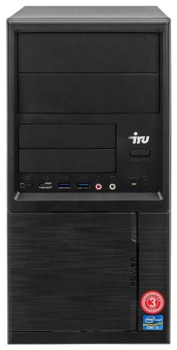 Настольный компьютер iRu Office 315 MT (1176000) Mini-Tower/Intel Core i5-8400/8 ГБ/480 ГБ SSD/Intel UHD Graphics 630/DOS