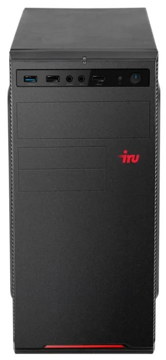 Настольный компьютер iRu Home 315 MT (1188115) Mini-Tower/Intel Core i5-9400F/16 ГБ/120 ГБ SSD+1 ТБ HDD/NVIDIA GeForce GTX 1050 Ti/Windows 10 Home