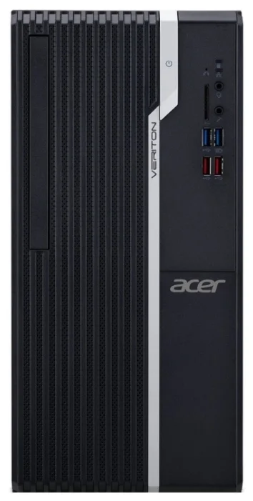 Настольный компьютер Acer Veriton S2660G (DT.VQXER.030) Mini-Tower/Intel Core i3-8100/4 ГБ/1 ТБ HDD/Intel UHD Graphics 630/Linux