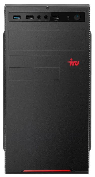 Настольный компьютер iRu Home 120 MT (1187711) Mini-Tower/AMD E1-2500/4 ГБ/1 ТБ HDD/AMD Radeon HD 8240/DOS