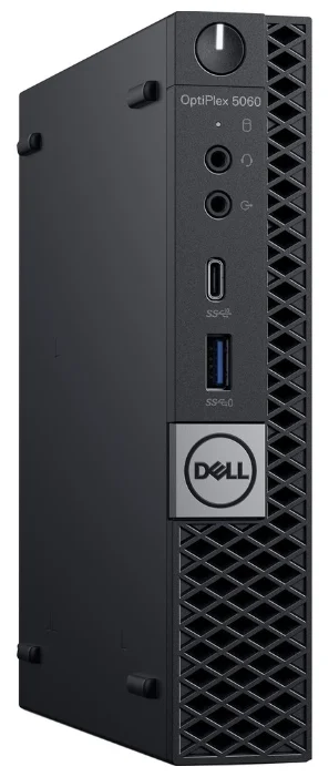 Настольный компьютер DELL Optiplex 5060 (5060-7670) Micro-Tower/Intel Core i5-8500T/8 ГБ/1 ТБ HDD/Intel UHD Graphics 630/Windows 10 Pro