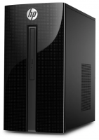 Настольный компьютер HP 460-a211ur (4XL80EA) Mini-Tower/Intel Pentium J3710/8 ГБ/1 ТБ HDD/Intel HD Graphics 405/DOS