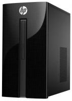 Настольный компьютер HP 460-a210ur (4XJ29EA) Mini-Tower/Intel Pentium J3710/4 ГБ/1 ТБ HDD/Intel HD Graphics 405/DOS
