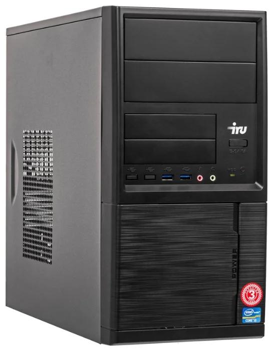 Настольный компьютер iRu Office 223 MT (1176391) Midi-Tower/AMD Ryzen 3 2200G/8 ГБ/240 ГБ SSD/AMD Radeon RX Vega 8/Windows 10 Pro