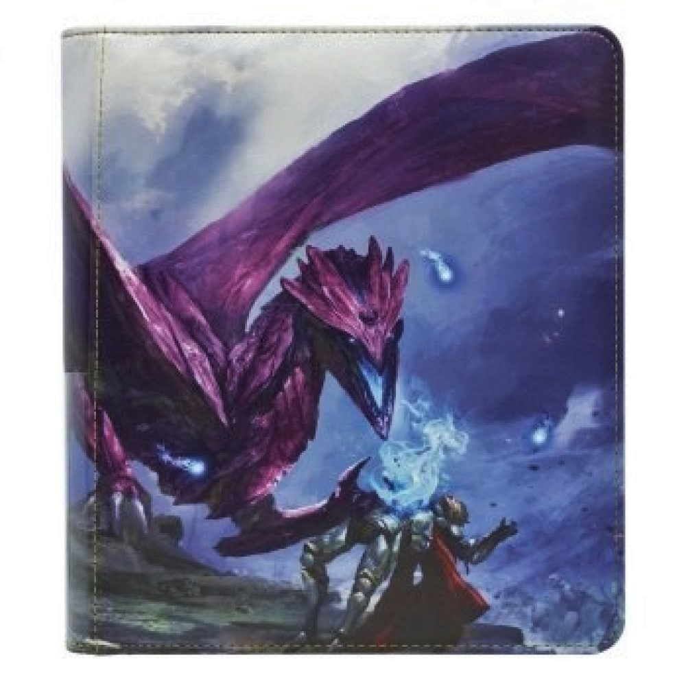 Портфолио Dragon Shield - Small Purple 'Amfist'