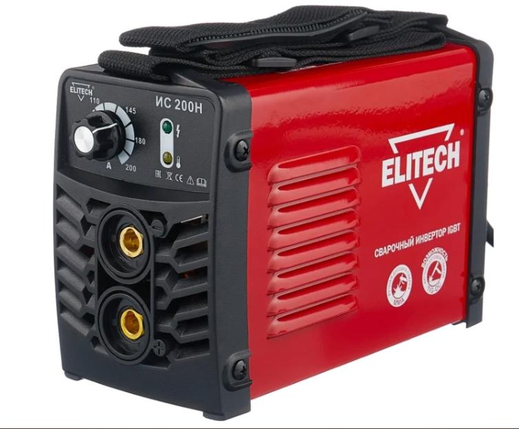 Сварочный аппарат ELITECH ИС 200Н