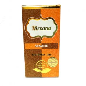 SESAME NATURAL OIL, Nirvana (КУНЖУТА НАТУРАЛЬНОЕ МАСЛО для наружного применения, Нирвана), 30 мл.