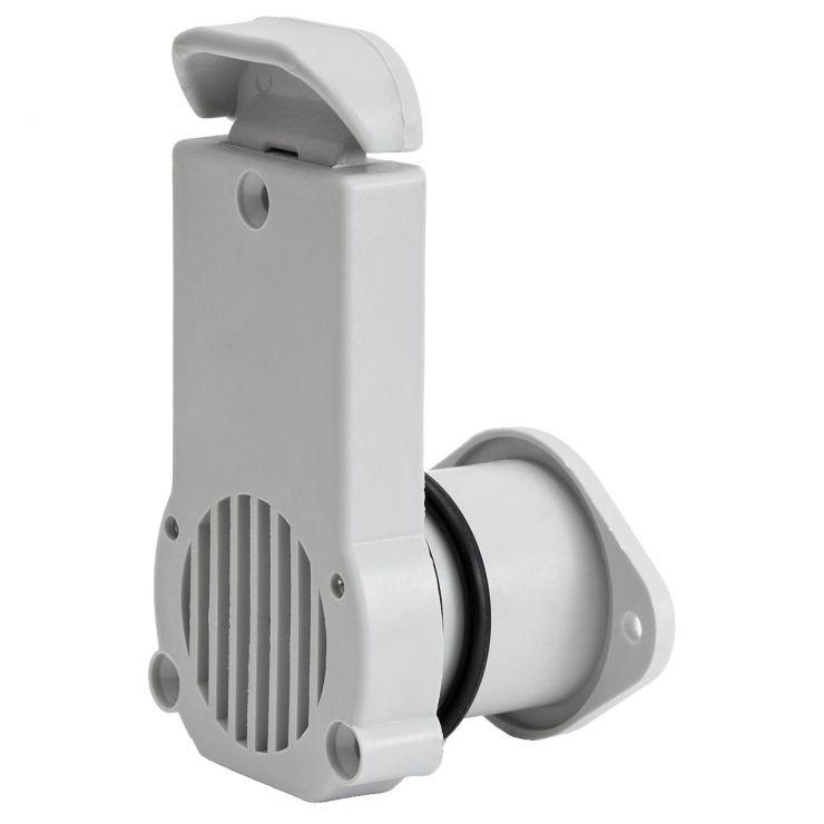 Клапан сливной DJ403628-22-28 серый 22-28мм