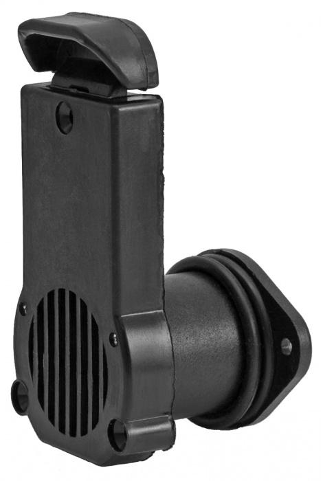 Клапан сливной DJ403628-22-28 черный 22-28мм