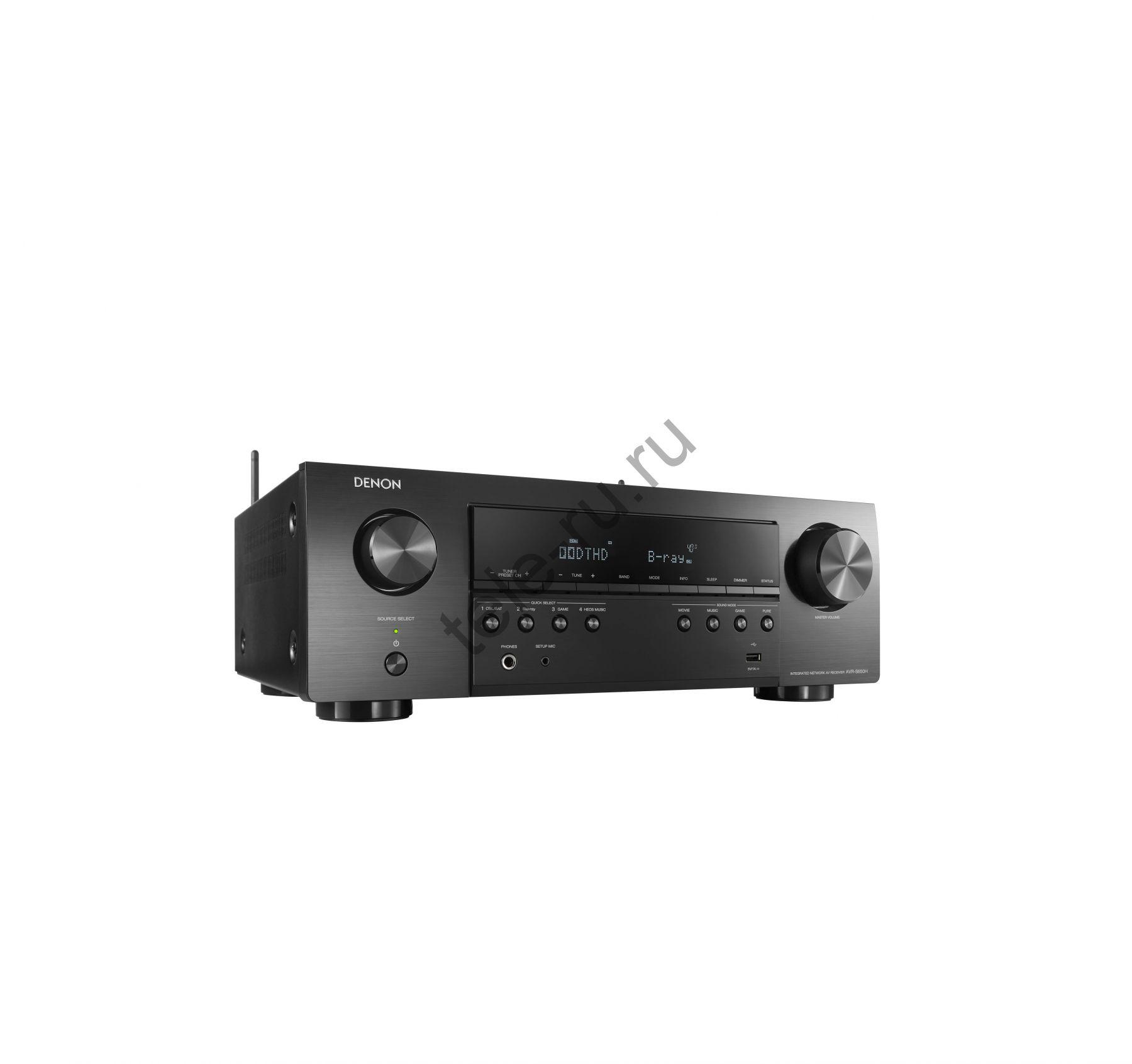 AV Ресиверы DENON AVR-S650H