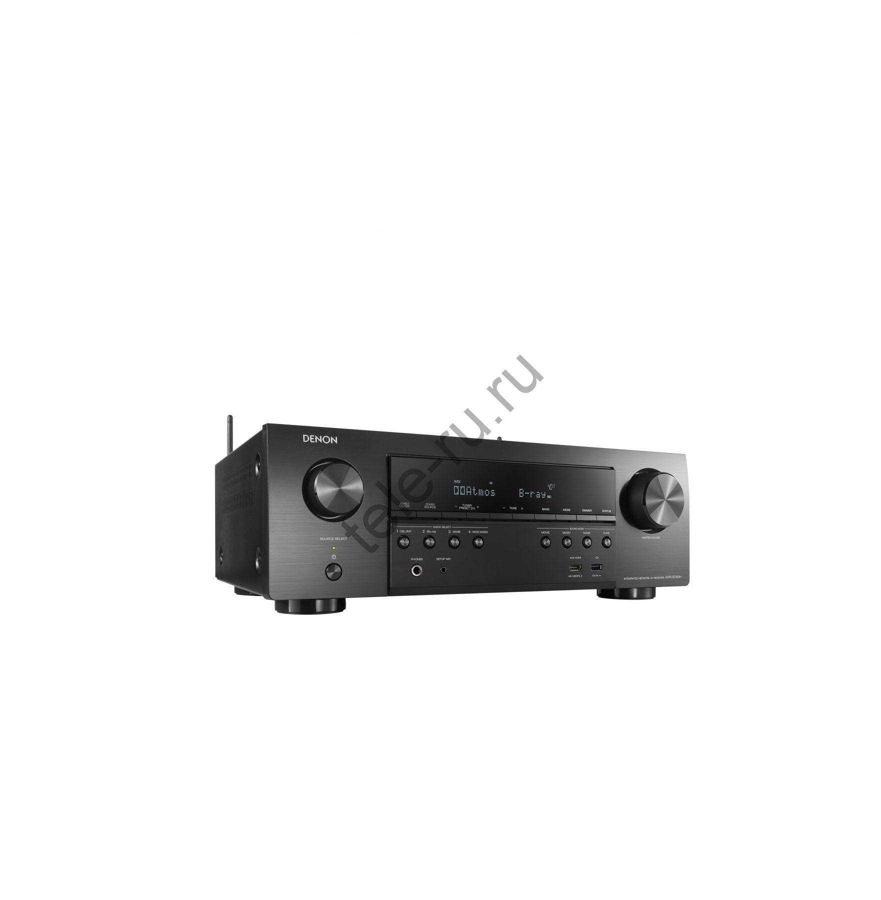 AV Ресиверы DENON AVR-S750H