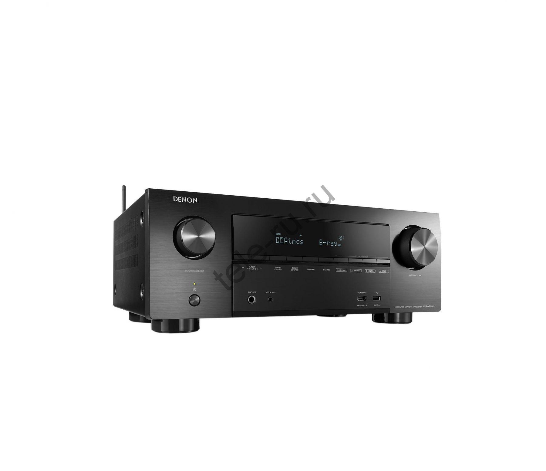 AV Ресиверы DENON AVR-X2600H