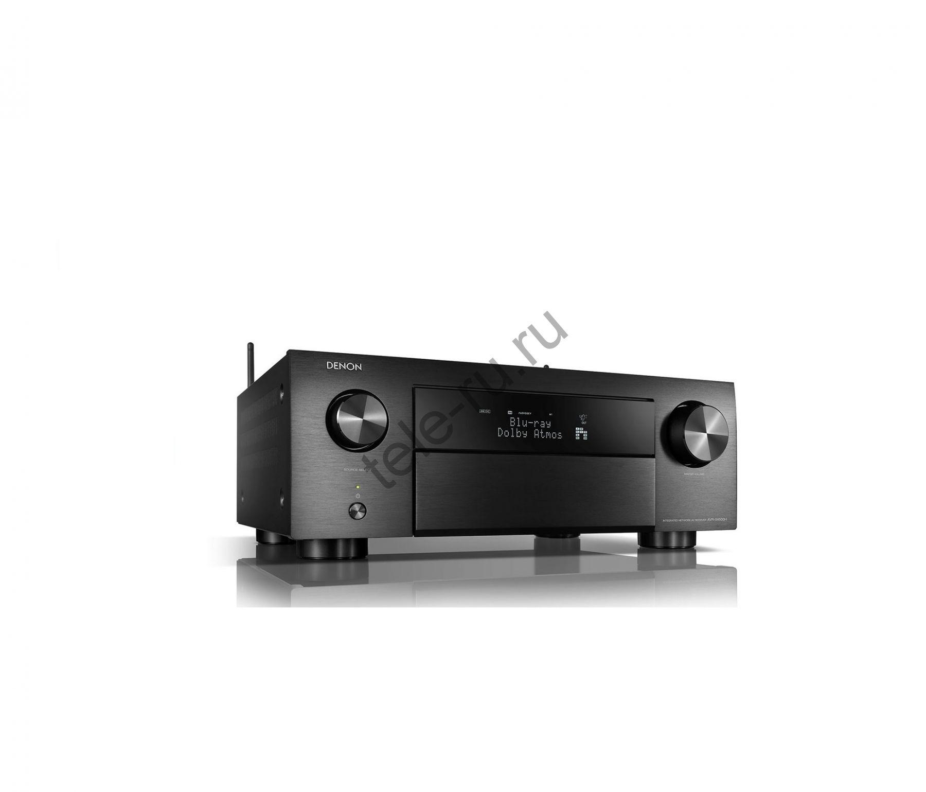 AV Ресиверы DENON AVR-X4500H, Black