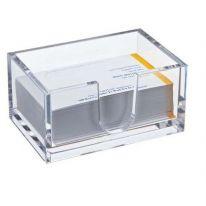 Настольный акриловый держатель визиток Card Case, прозрачный