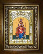 Богородица со сродницами праведными икона Божией матери (14х18)