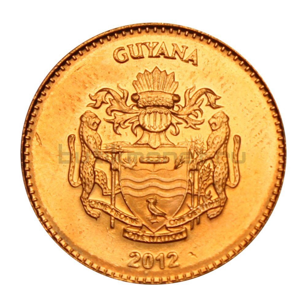 5 долларов 2012 Гайана