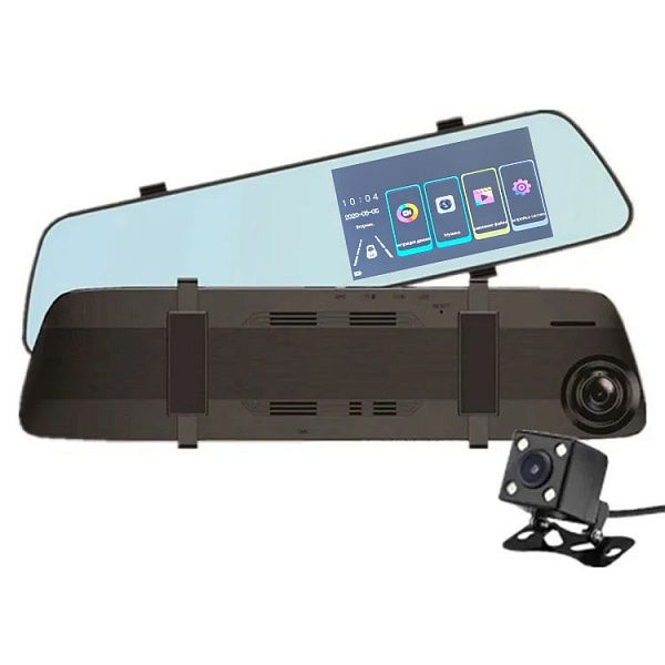 TDS TS-CAR43 автовидеорегистратор зеркало
