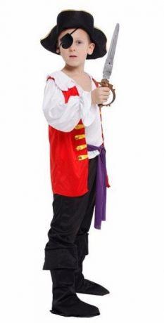 Костюм Пирата жилет (L, детский)