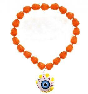 Ожерелье Глаз с черепами светящееся