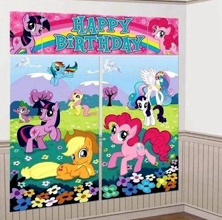 Декорация баннеры My Pony (165x190 см)