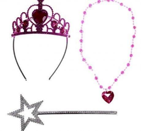Набор Принцессы (корона, палочка, бусы)