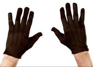 Перчатки коричневые
