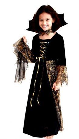 Платье детское Королева Тьмы (M)