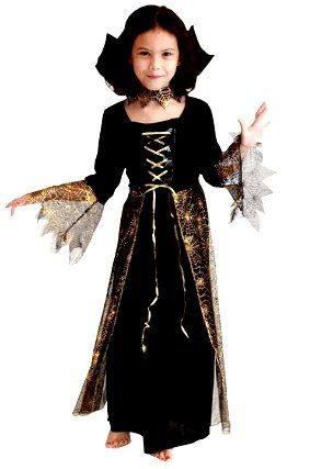 Платье детское Королева Тьмы (XL)
