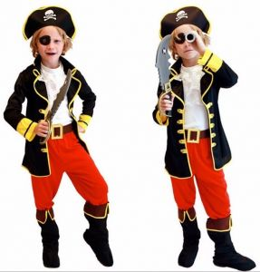Костюм Пирата с штанами ( M, детский)
