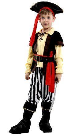 Костюм Пирата без рукавов ( L, детский)