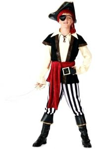 Костюм Пирата без рукавов (XL, детский)