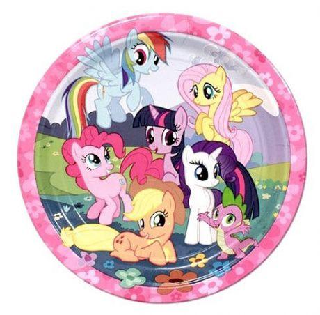 Тарелки Pony