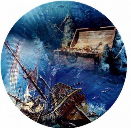 Тарелка Сокровища пиратов