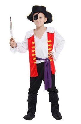 Костюм Пирата  жилет (M, детский)