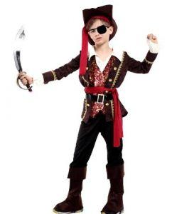 Костюм Пирата с жилетом (M, детский)