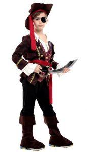 Костюм Пирата с жилетом ( L, детский)