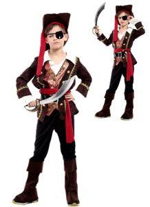 Костюм Пирата с жилетом (XL, детский)