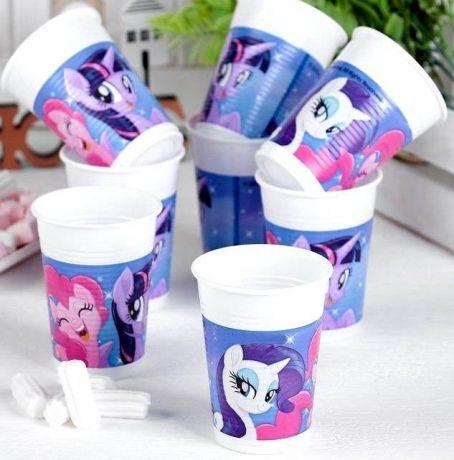 Стаканы пластик Pony  (8шт)
